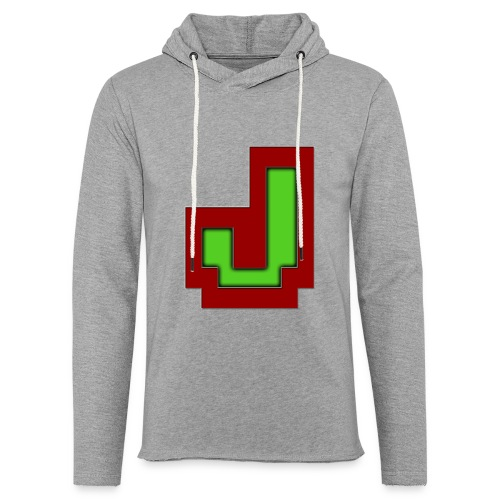 Stilrent_J - Let sweatshirt med hætte, unisex