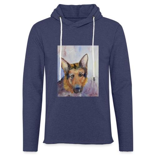 german shepherd wc - Let sweatshirt med hætte, unisex