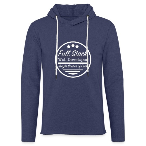 Full Stack Web Developer - Light Unisex Sweatshirt Hoodie