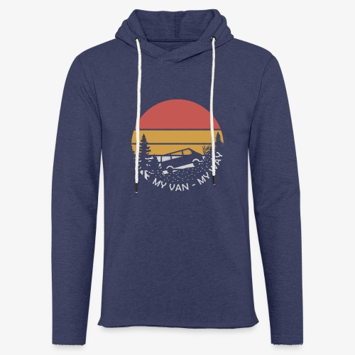 My Van My Way - Leichtes Kapuzensweatshirt Unisex