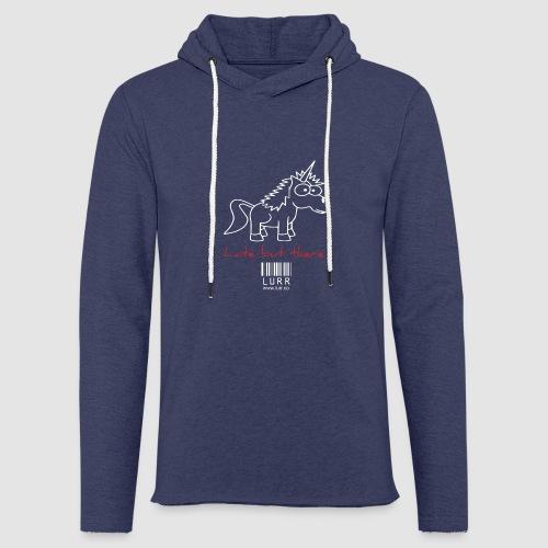 lurr unicorn - Light Unisex Sweatshirt Hoodie