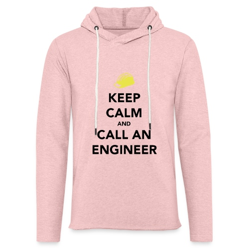 Keep Calm Engineer - Light Unisex Sweatshirt Hoodie