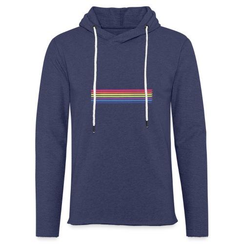 Colored lines - Light Unisex Sweatshirt Hoodie