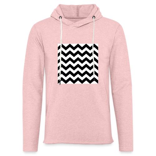 zigzag png - Sweat-shirt à capuche léger unisexe