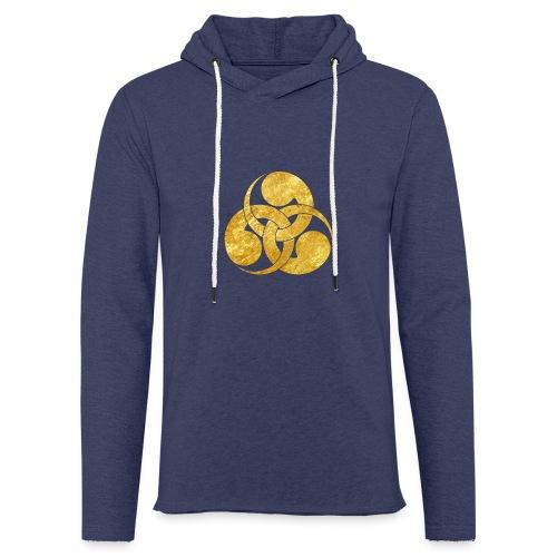Tadpole Mon Japanese samurai clan - Light Unisex Sweatshirt Hoodie