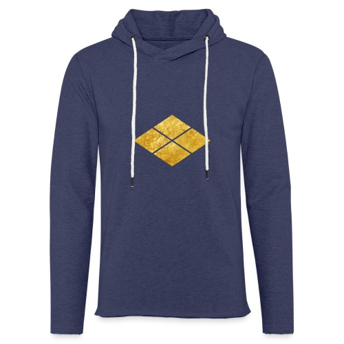 Takeda kamon Japanese samurai clan faux gold - Light Unisex Sweatshirt Hoodie