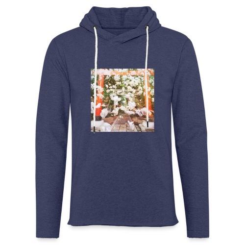 見ぬが花 Imagination is more beautiful than vi - Light Unisex Sweatshirt Hoodie
