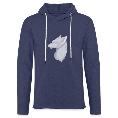 Wolf Bib - Light Unisex Sweatshirt Hoodie