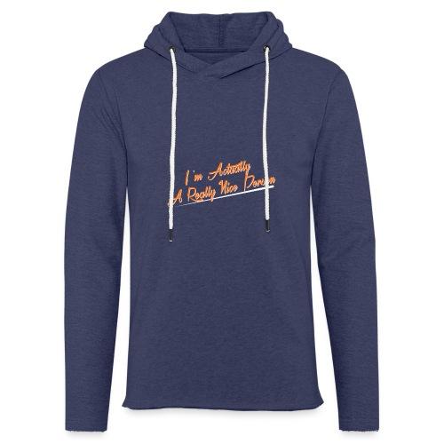 nice-person - Light Unisex Sweatshirt Hoodie