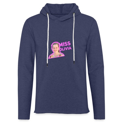 MissOlivia - Lichte hoodie unisex