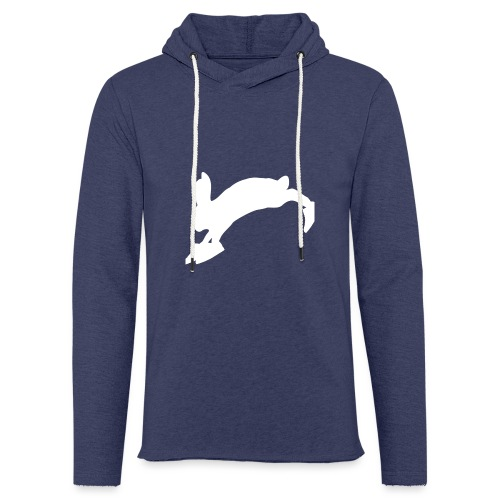 Bunny_Logo - Let sweatshirt med hætte, unisex