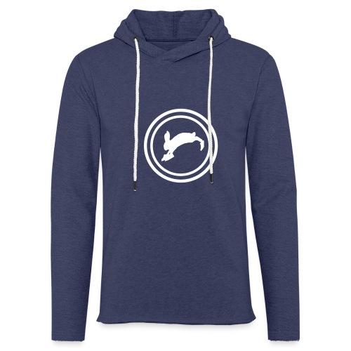 Bunny_Logo2 - Let sweatshirt med hætte, unisex