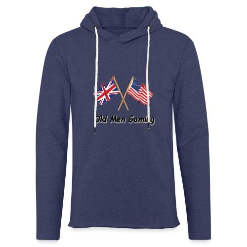 OMG logo - Light Unisex Sweatshirt Hoodie