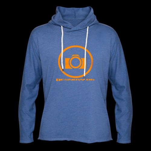 Orange 2 png - Let sweatshirt med hætte, unisex