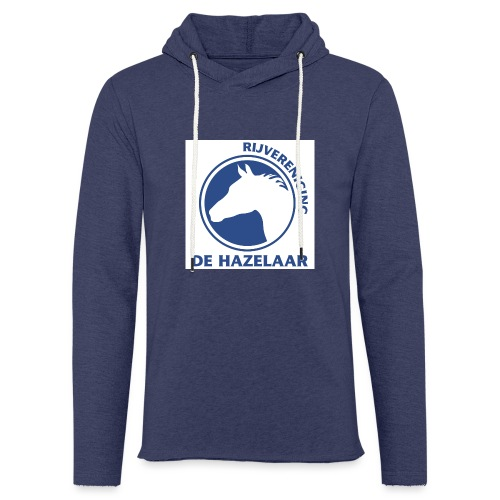 LgHazelaarPantoneReflexBl - Lichte hoodie unisex