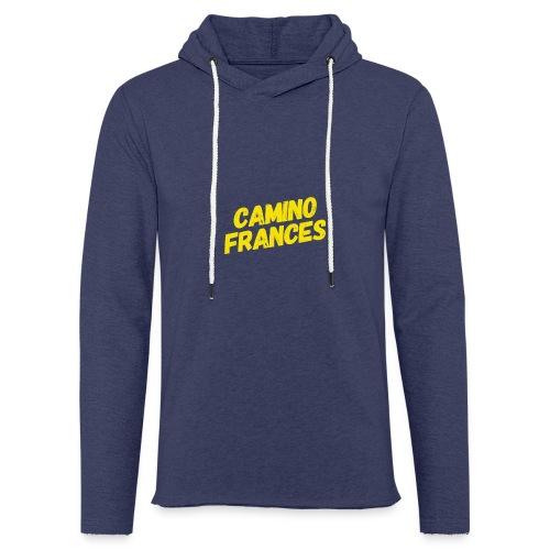 Camino Frances - Leichtes Kapuzensweatshirt Unisex