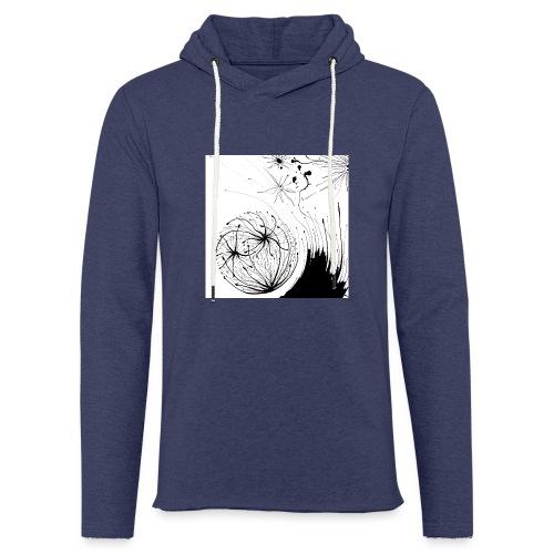 sac03 - Sweat-shirt à capuche léger unisexe