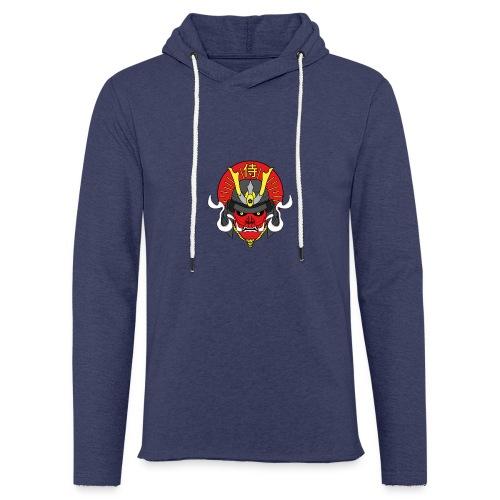 Samouraï Casque Démon - Sweat-shirt à capuche léger unisexe