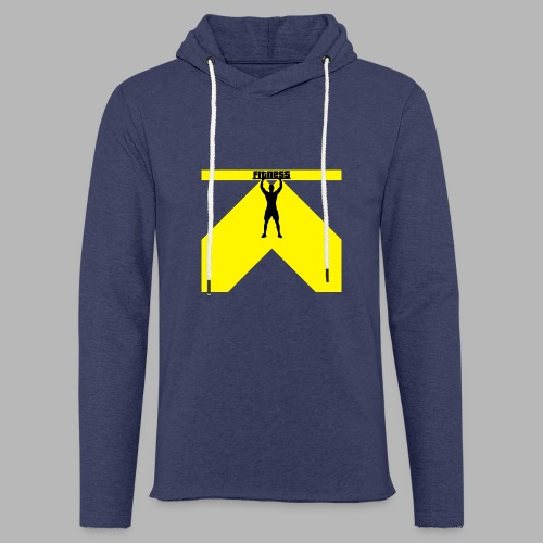 Fitness Lift - Leichtes Kapuzensweatshirt Unisex