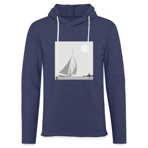 sailing ship - Light Unisex Sweatshirt Hoodie