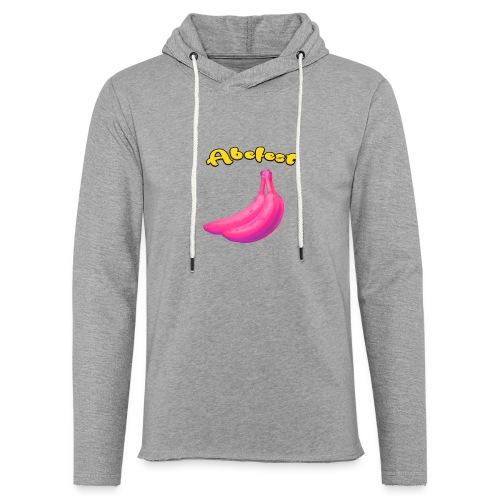 Abefest - Let sweatshirt med hætte, unisex