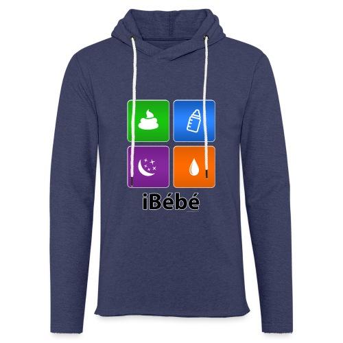 iBébé - Sweat-shirt à capuche léger unisexe
