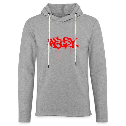 #EASY Graffiti Logo T-Shirt - Felpa con cappuccio leggera unisex