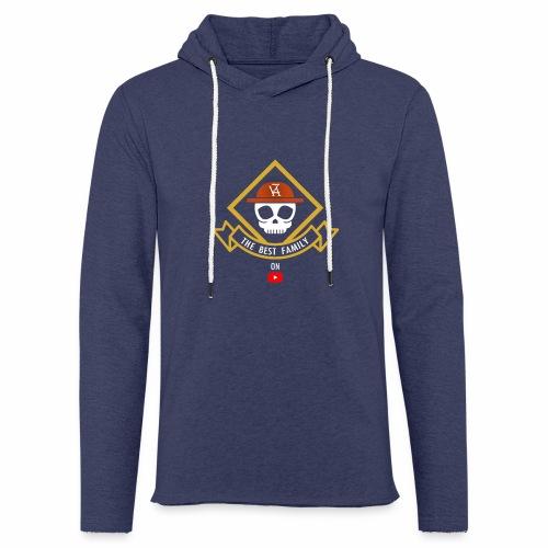 The Best Pirate family - Sweat-shirt à capuche léger unisexe