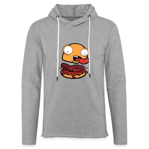 Crazy Burger - Sudadera ligera unisex con capucha