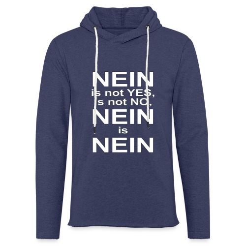 NEIN! - Light Unisex Sweatshirt Hoodie