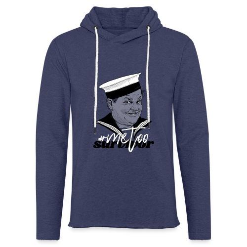#metoo survivor - Let sweatshirt med hætte, unisex