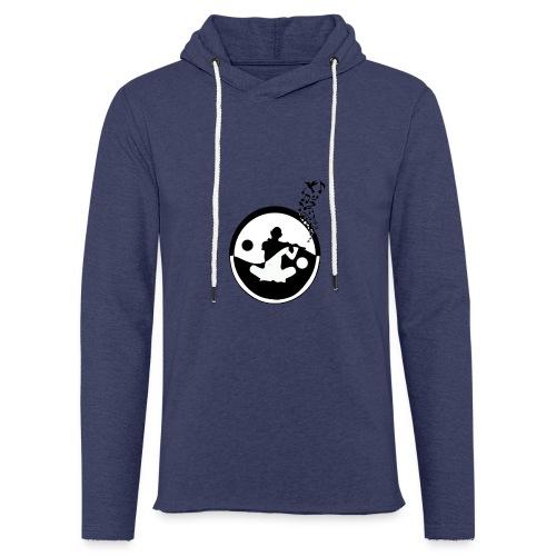 flute - Sweat-shirt à capuche léger unisexe