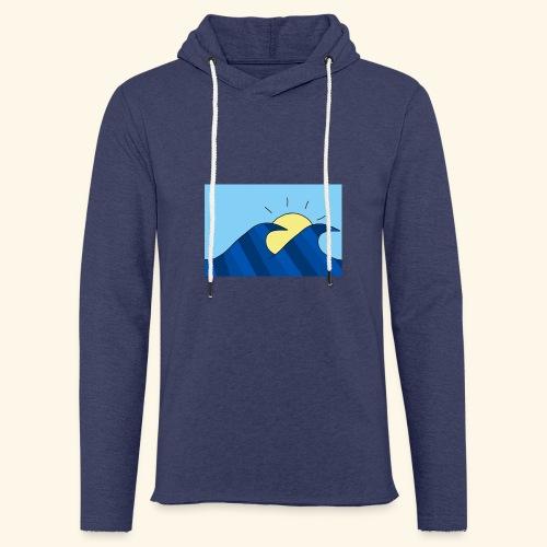 Espoir double wave - Light Unisex Sweatshirt Hoodie