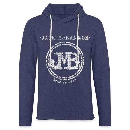 Jack McBannon - JMB True Stories - Leichtes Kapuzensweatshirt Unisex