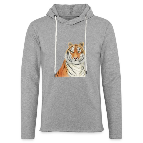 Tigre,Tiger,Wildlife,Natura,Felino - Felpa con cappuccio leggera unisex
