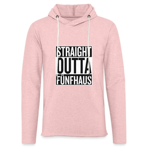 Straight Outta Fünfhaus - Leichtes Kapuzensweatshirt Unisex