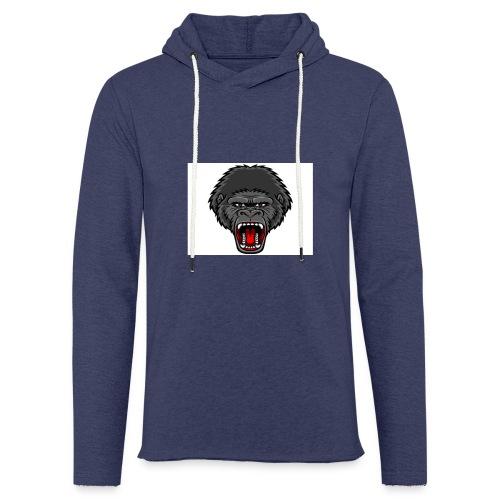 gorilla - Lichte hoodie unisex