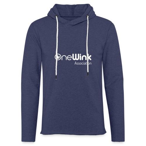 OneWink Association - Sweat-shirt à capuche léger unisexe