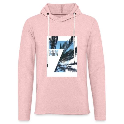 Summertime - Lichte hoodie unisex