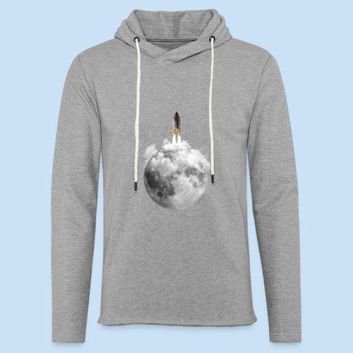 Mondrakete - Leichtes Kapuzensweatshirt Unisex