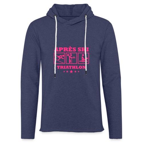 Apres Ski Triathlon | Apreski-Shirts gestalten - Leichtes Kapuzensweatshirt Unisex