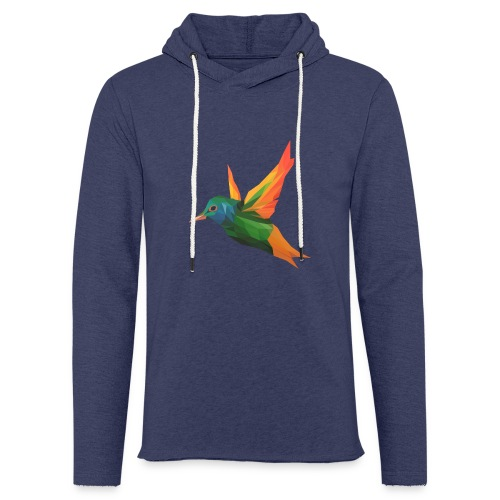 EXOTIC BIRD - MINIMALIST - Sweat-shirt à capuche léger unisexe