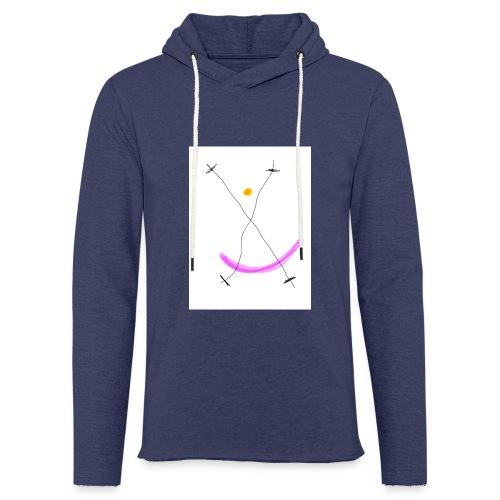 64FB8425 2DD5 4821 BDA2 8F0B9E31CF77 - Let sweatshirt med hætte, unisex