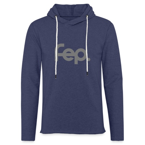 FEP logo gray - Light Unisex Sweatshirt Hoodie
