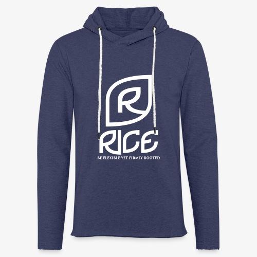 rice vector - Lichte hoodie unisex