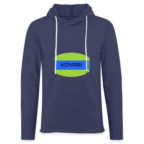 Kovari Logo - Kevyt unisex-huppari