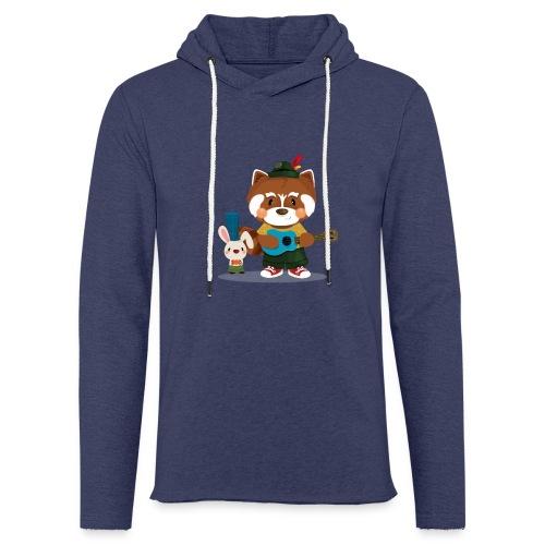 1 - Sweat-shirt à capuche léger unisexe