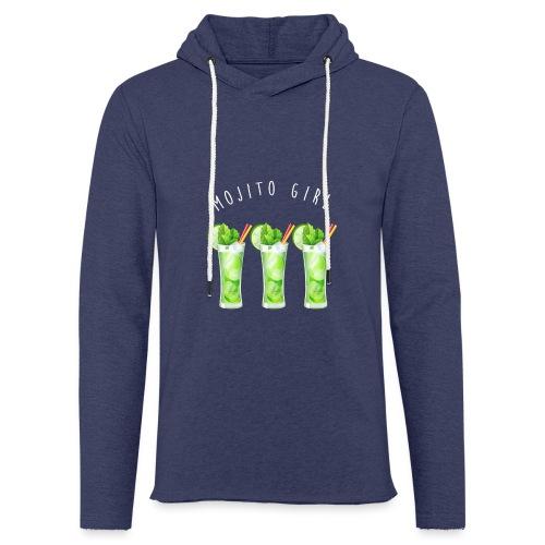 mojito girl - Sweat-shirt à capuche léger unisexe