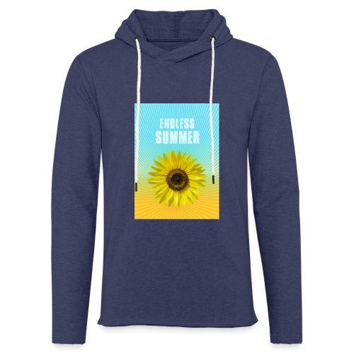 sunflower endless summer Sonnenblume Sommer - Light Unisex Sweatshirt Hoodie