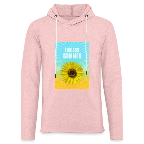 sunflower endless summer Sonnenblume Sommer - Light Unisex Sweatshirt Hoodie